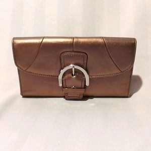 COACH LEATHER WALLET!